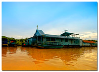 Floating Church, Tonle Sap Lake